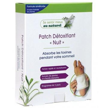 Patch Détoxifiant Nuit, 1 boîte de 10 patchs